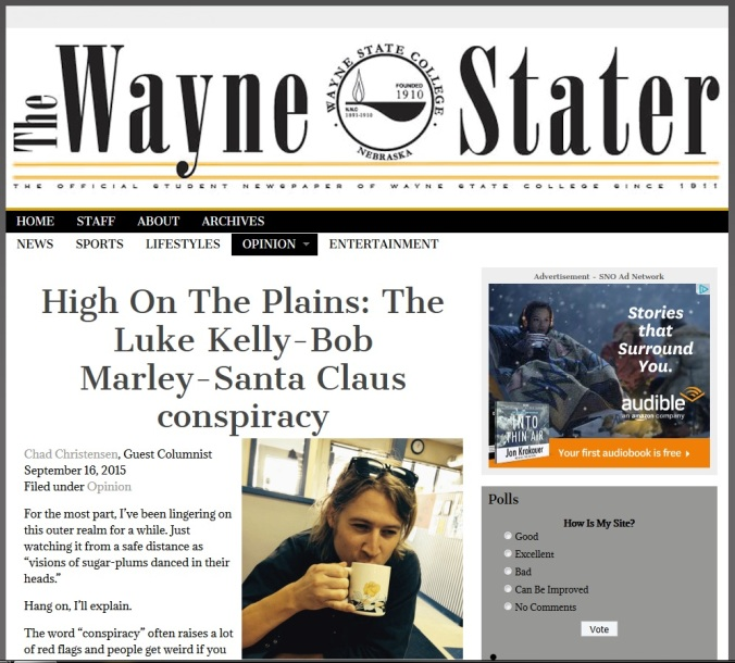 High on the plains article